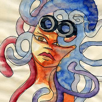 Medusawoman Steampunkera