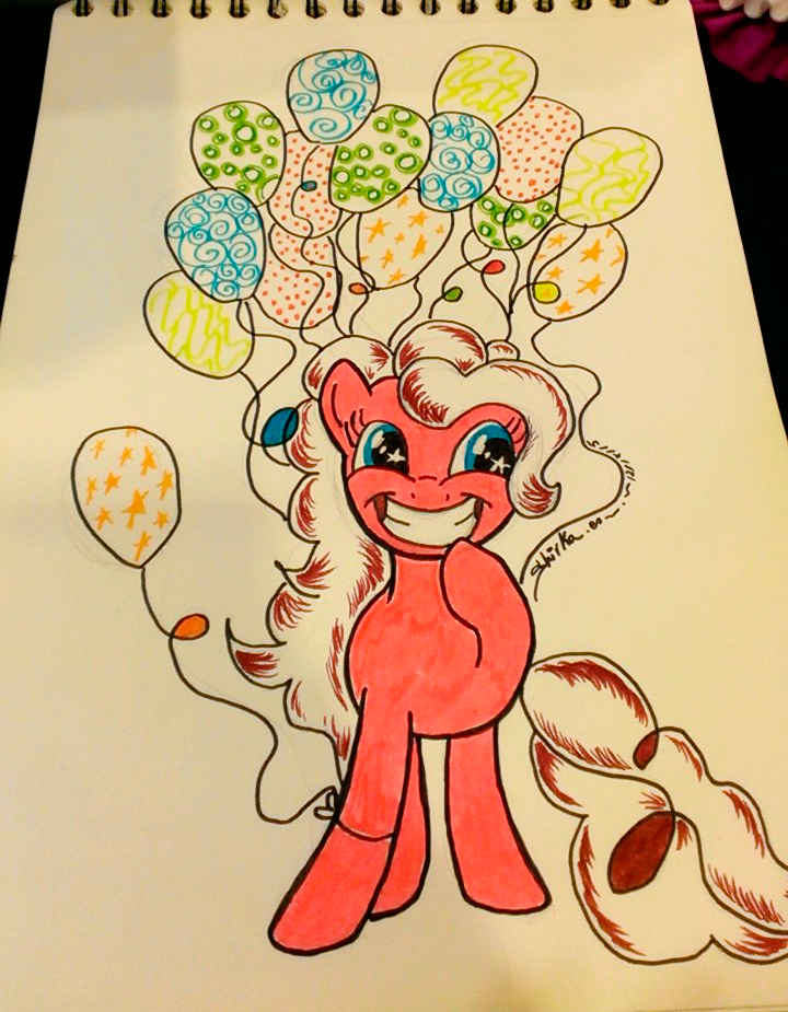 MLP G4 PINKY PIE COMMISSION