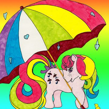 My little pony Parasol G1