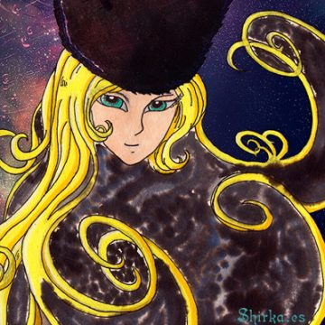 Maetel Galaxy Express 999 fan Art
