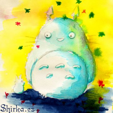 Tonari no Totoro Shirka Fan Art