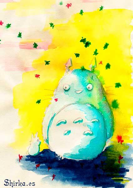 Tonari no Totoro Shirka Fan Art