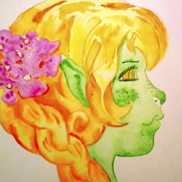 Spring Shirka aquarelle